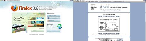 Firefox, minimal GUI